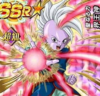 新キャラ【聖なる力】界王神【SR】のZ覚醒後、LV最大ステータスが判明しました!