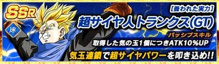 超サイヤ人トランクス(GT)
