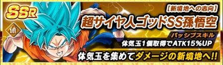 【新境地への志向】超サイヤ人ゴッドSS孫悟空