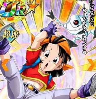 新キャラクター【おてんばトラブルメーカー】パン(GT)【UR】のZ覚醒後、LV最大ステータスが判明しました!