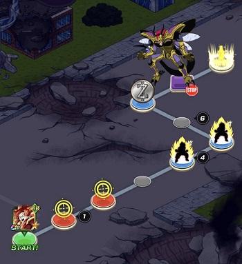 物語イベント 龍拳爆発‼